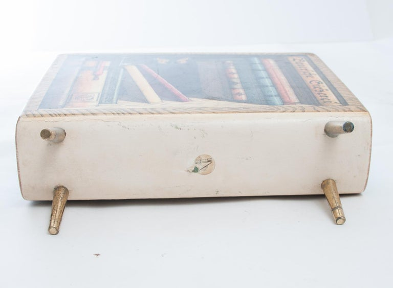 Mid-20th Century Piero Fornasetti Magazine Rack For Sale