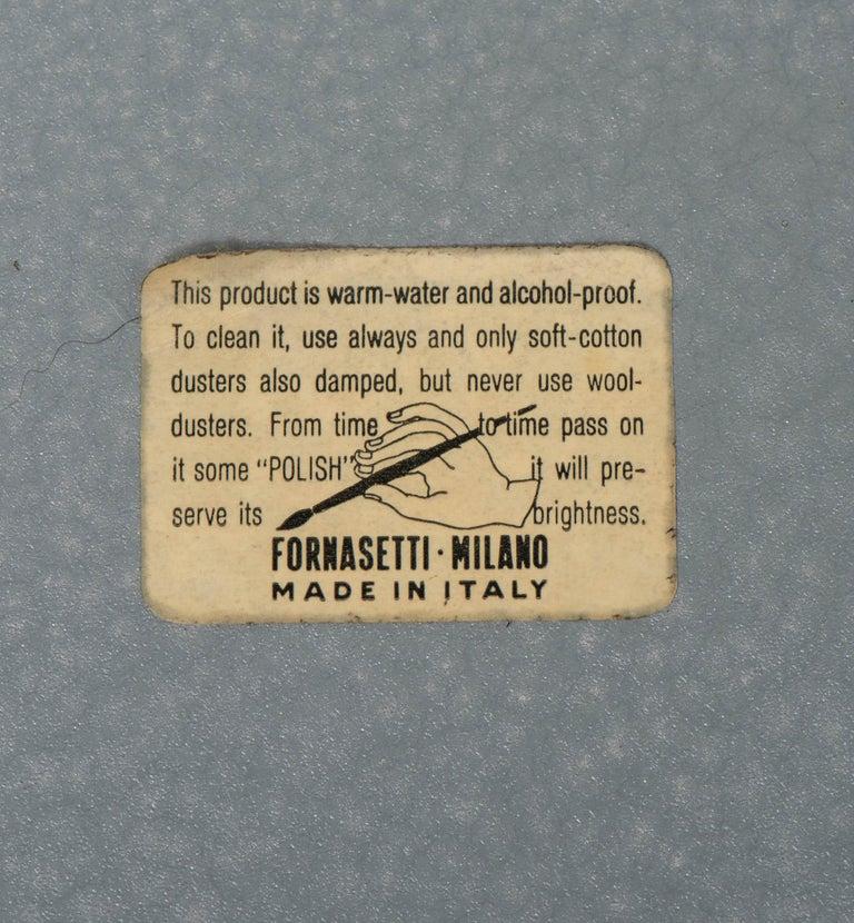 "Piero Fornasetti Metal Tray ""Sole"", Italy, circa 1960 For Sale 1"