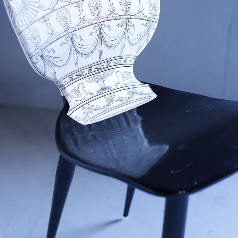 "Italian Piero Fornasetti ""Mongolfiera"" Chair For Sale"