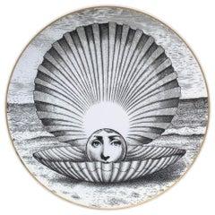 Piero Fornasetti Rosenthal Plate, Motiv 14, circa 1980s