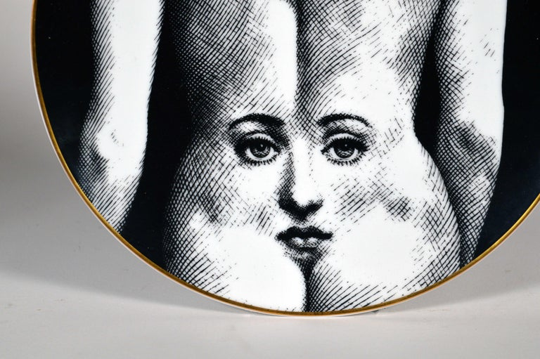 Piero Fornasetti Rosenthal plate, 