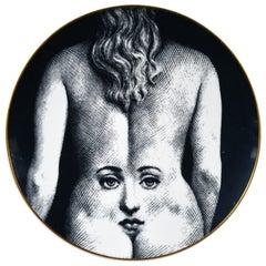 Piero Fornasetti Rosenthal Porcelain Plate, Motiv 28