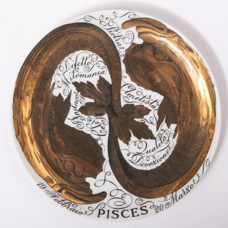 Piero Fornasetti Set of the Twelve Zodiac Signs, Italy, circa 1965-1975 For Sale 6