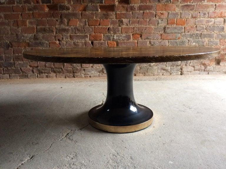 Mid-20th Century Piero Fornasetti Strumenti Musicali Coffee Table circa 1960s Musical Instruments For Sale