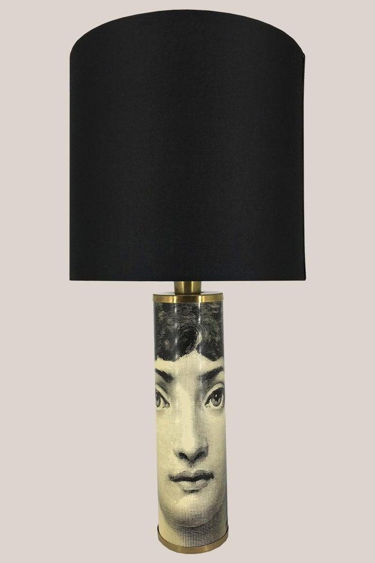 Italian Piero Fornasetti Table Lamp For Sale