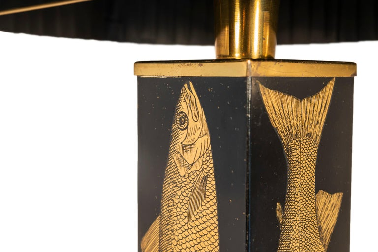 Mid-Century Modern Piero Fornasetti, Table Lamp, Italy, circa 1960 For Sale