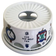 Piero Fornasetti Teapot Warmer-Five Golden Rules for Teamaking