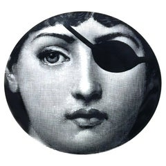 Piero Fornasetti Themes & Variations Porcelain Plate, #8