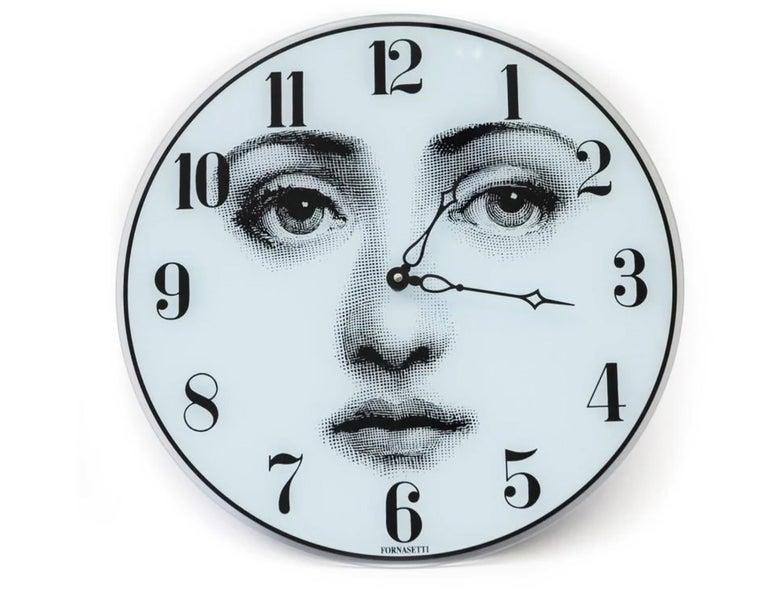 Mid-Century Modern Piero Fornasetti Wall Clock