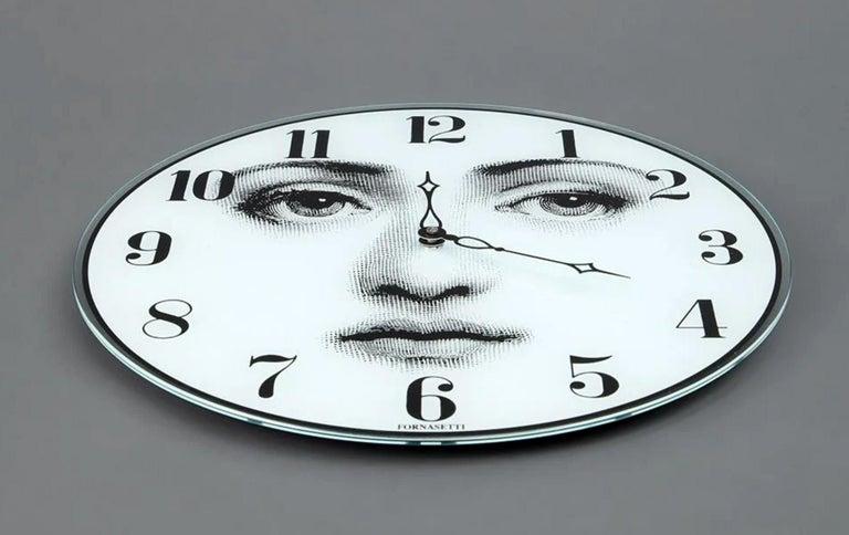 Italian Piero Fornasetti Wall Clock