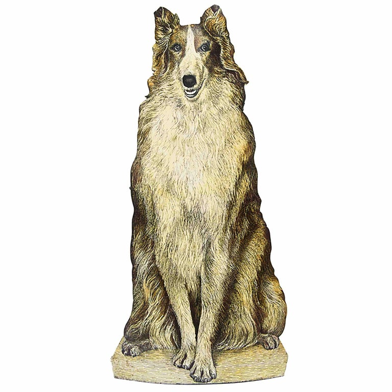 Piero Fornasetti, Umbrella Stand Representing a Collie Dog, circa 1950