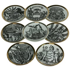 Piero Fornesetti Coasters, Emblems of the States