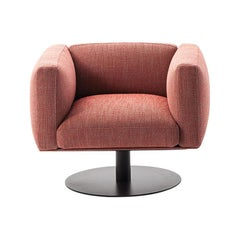 Piero Lissoni 8 Cube Armchair with Swivel Base by Cassina