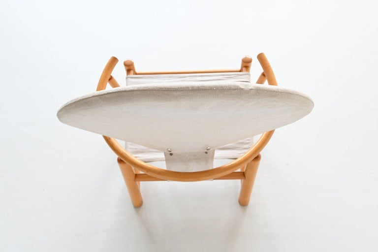 Piero Palange and Werther Toffoloni G23 Hoop Chair Germa, Italy, 1972 8