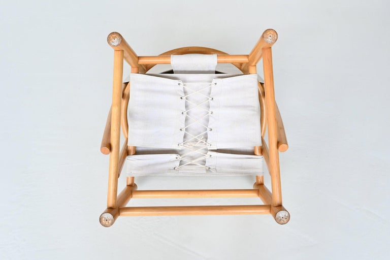 Piero Palange and Werther Toffoloni G23 Hoop Chair Germa, Italy, 1972 9