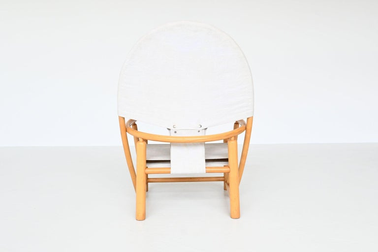 Italian Piero Palange and Werther Toffoloni G23 Hoop Chair Germa, Italy, 1972