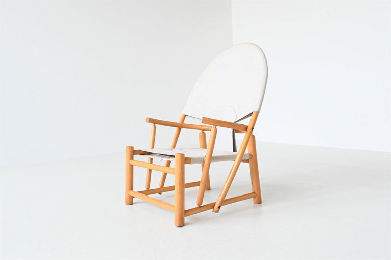 Piero Palange and Werther Toffoloni G23 Hoop Chair Germa, Italy, 1972 In Good Condition In Etten-Leur, NL