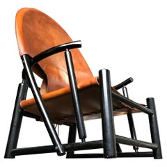 Piero Palange and Werther Toffoloni Hoop Leather Armchair