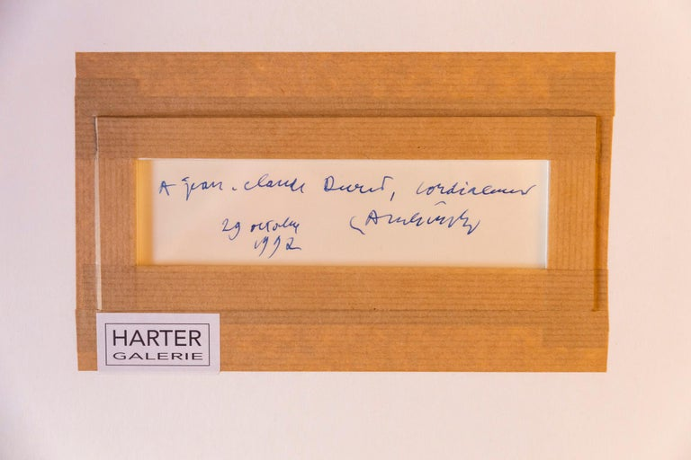 Pierre Alechinsky, Composition 1992, Signed, Belgium For Sale 2