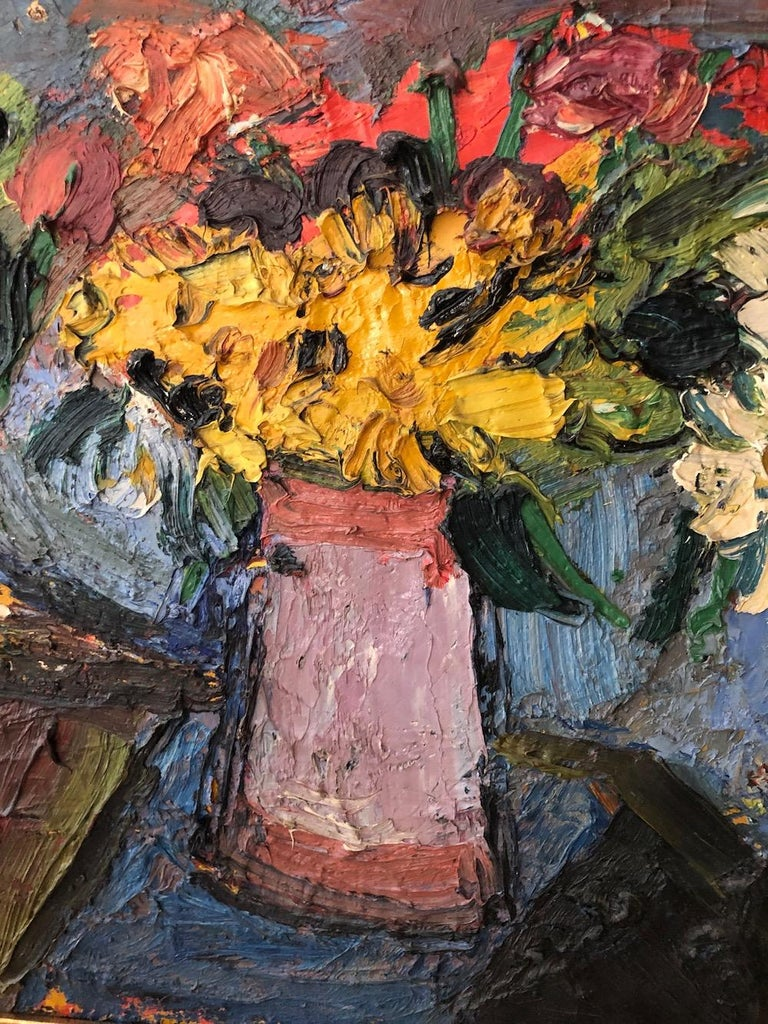 "Pierre Ambrogiani (1907-1985) ""Bouquets of Flowers"" 1957. 