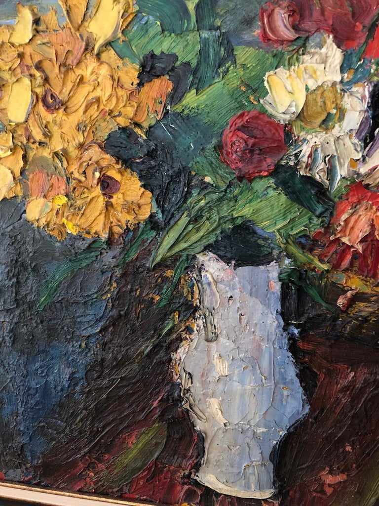 "Pierre Ambrogiani '1907-1985' ""Bouquets of Flowers"", 1957 In Excellent Condition For Sale In Washington Crossing, PA"