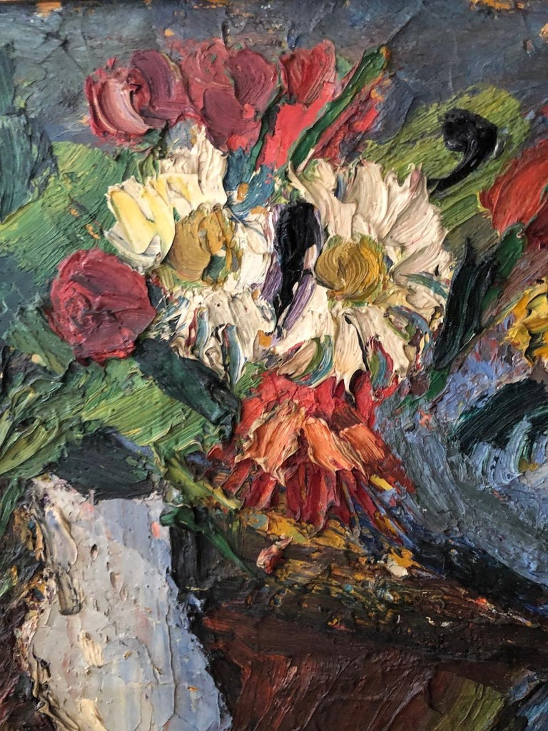 "20th Century Pierre Ambrogiani '1907-1985' ""Bouquets of Flowers"", 1957 For Sale"