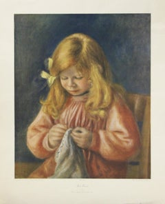 Jean Renoir-Poster. Copyright David Ashley, Inc. N.Y.C