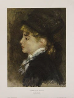 Portrait De Modéle-Poster. Printed in Italy.