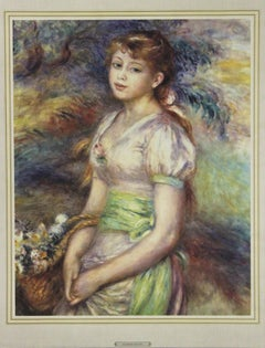 Portrait of a Young Lady-Poster.