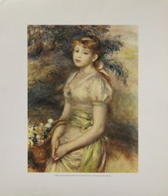 Portrait of a Young Lady-Poster. Printed in Spain.