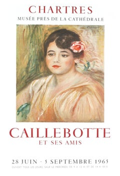 1965 After Pierre-Auguste Renoir 'Caillebotte' Impressionism