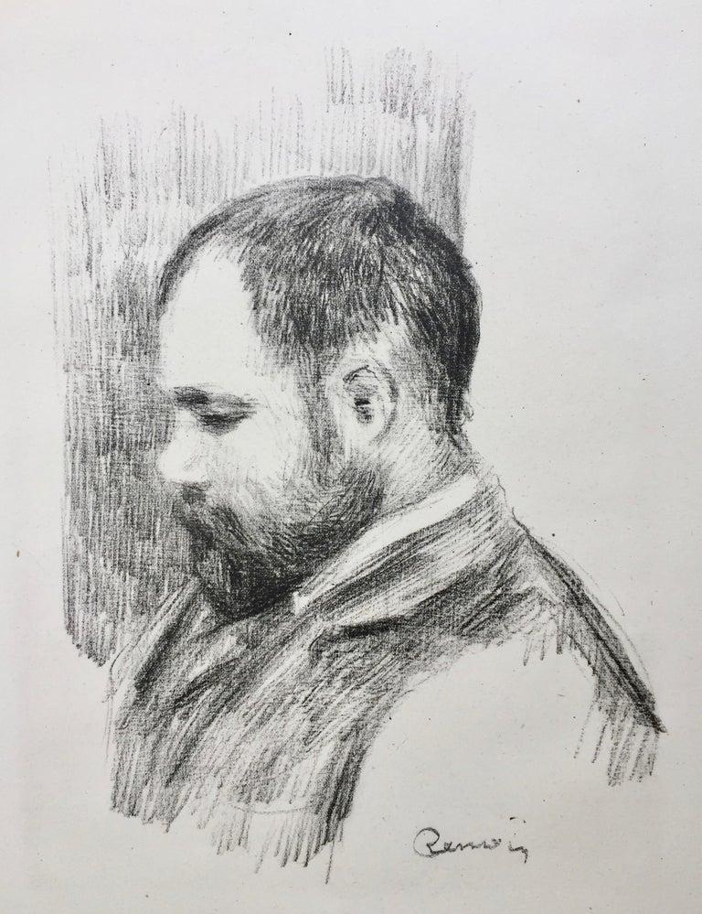 Ambroise Vollard - Art Dealer - Print by Pierre-Auguste Renoir