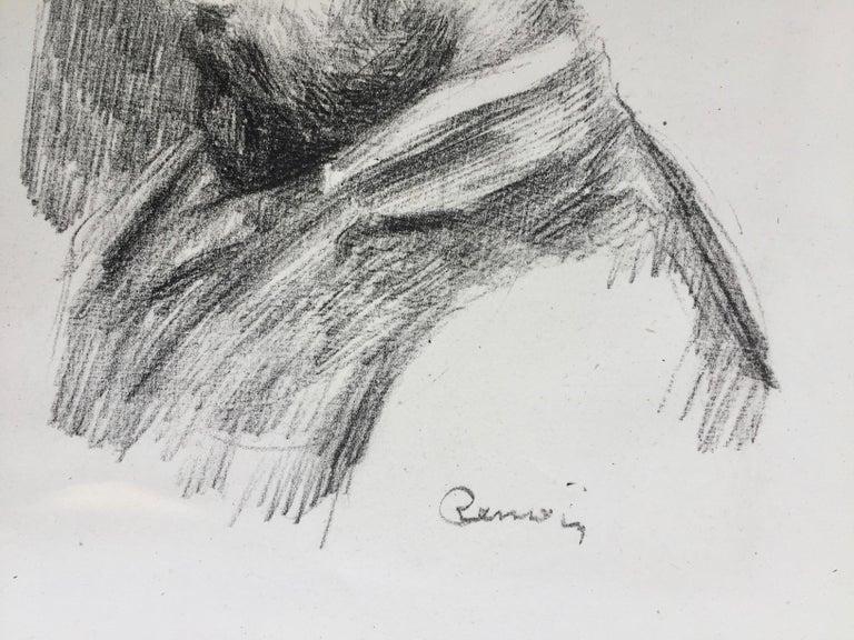 Ambroise Vollard - Art Dealer - Impressionist Print by Pierre-Auguste Renoir