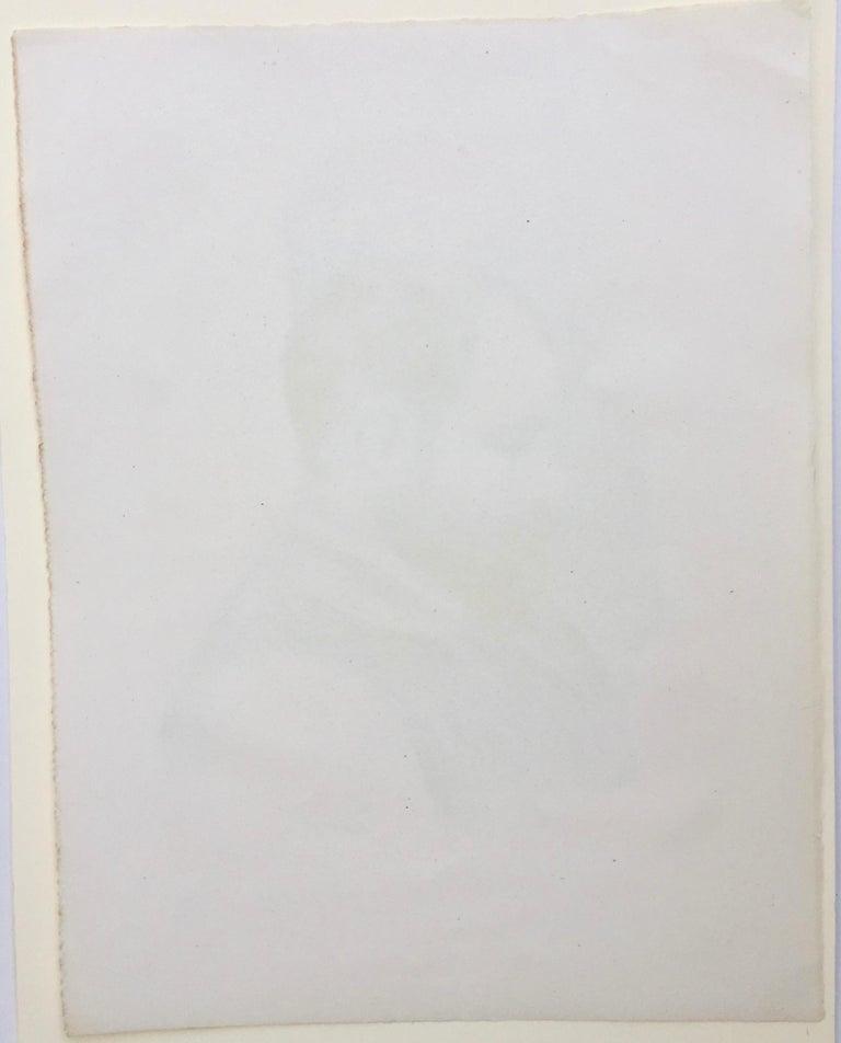 Ambroise Vollard - Art Dealer - Gray Portrait Print by Pierre-Auguste Renoir