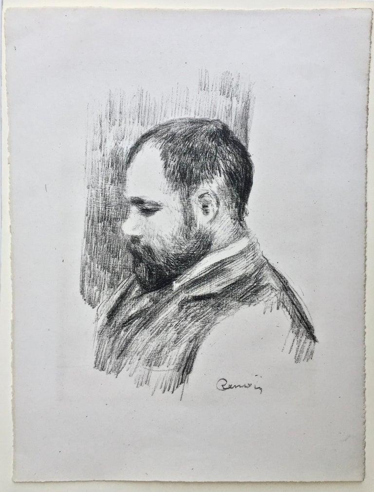 Pierre-Auguste Renoir Portrait Print - Ambroise Vollard - Art Dealer