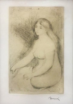 BAIGNEUSE ASSISE (D., S. 11)