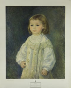 Child In White-Poster. New York Graphic Society.