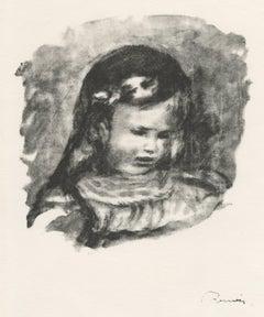 Claude Renoir, la Tete Baisee (Claude Renoir, Head Lowered)