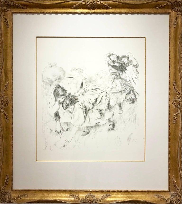 Enfants Jouant a la Balle - Print by Pierre-Auguste Renoir