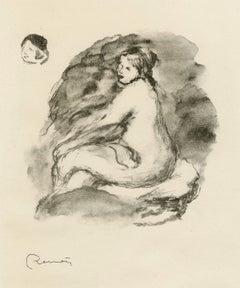 Etude de Femme Nue, Assie, Variente (Study of a Nude, Seated)