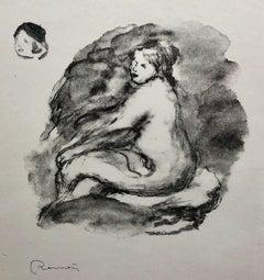Pierre-Auguste Renoir, Etude de Femme nue, Assise