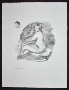 Etude de Femme Nue, Assise (Variante)