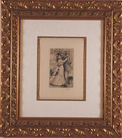 """La Danse à la Campagne"", 2nd plate by Pierre-Auguste Renoir"
