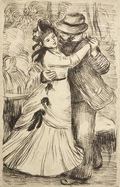 La Danse a la Campagne (2nd Plate)