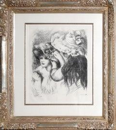 Le chapeau épinglé, by Pierre-Auguste Renoir 1898