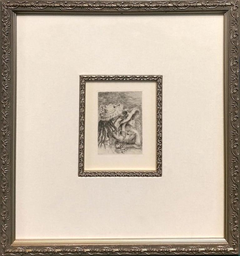 LE CHAPEAU EPINGLE - Print by Pierre-Auguste Renoir