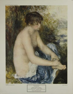 Little Nude in Blue-Poster. New York Graphic Society. Printed in Switzerland.