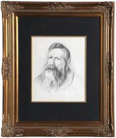 Portrait of Rodin, by Pierre-Auguste Renoir