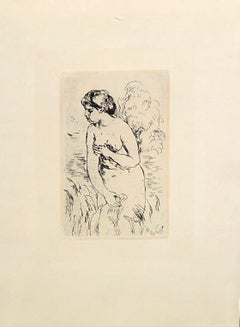 Standing Swimmer - Drypoint 1910