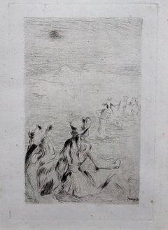 Pierre-Auguste Renoir, Sur La Plage, A Berneval